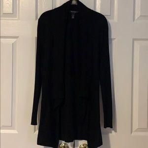 WHBM size S black cardigan